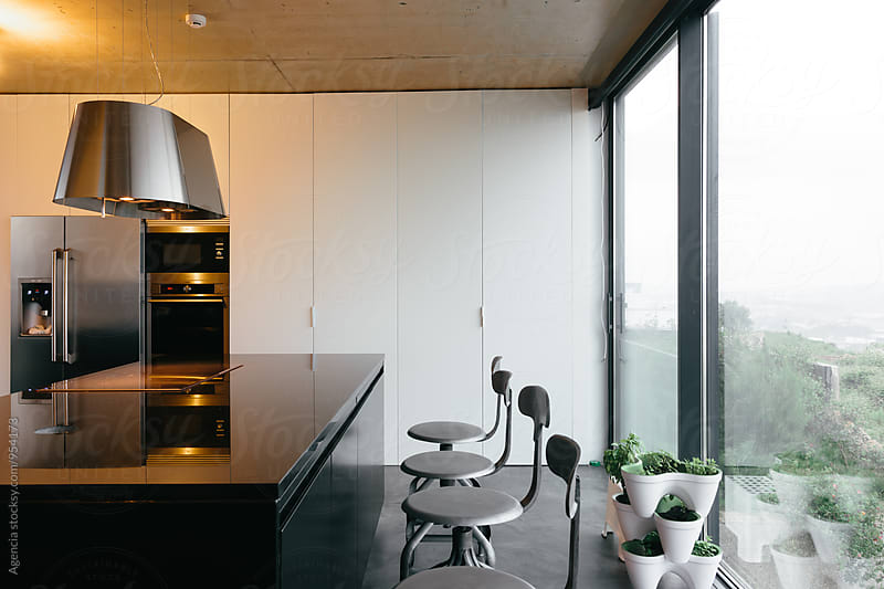 Modern Kitchen by Agencia for Stocksy United