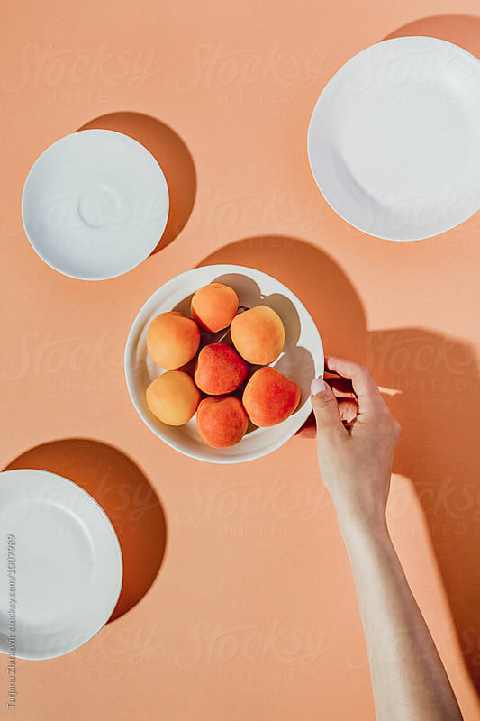 Apricots by Tatjana Zlatkovic for Stocksy United