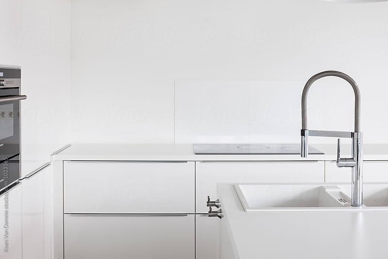 Modern faucet by Koen Van Damme for Stocksy United