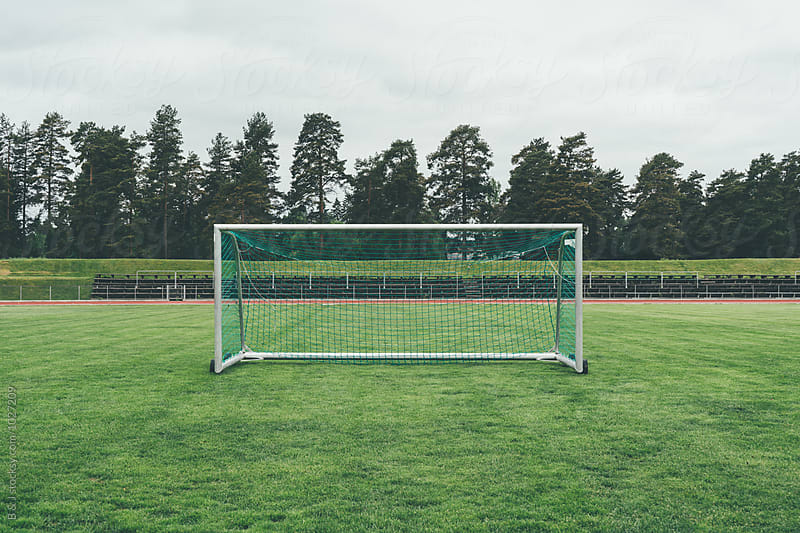 Soccer pitch by B & J for Stocksy United