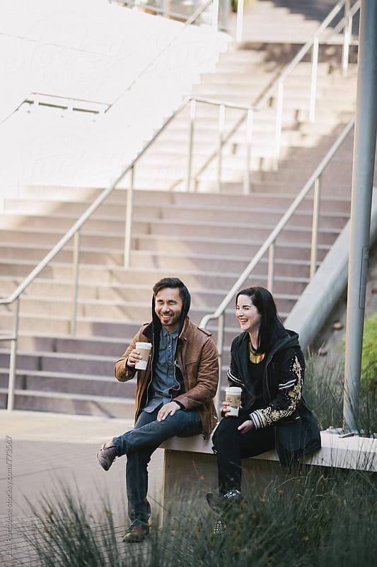 Coffee break by Jaki Portolese for Stocksy United
