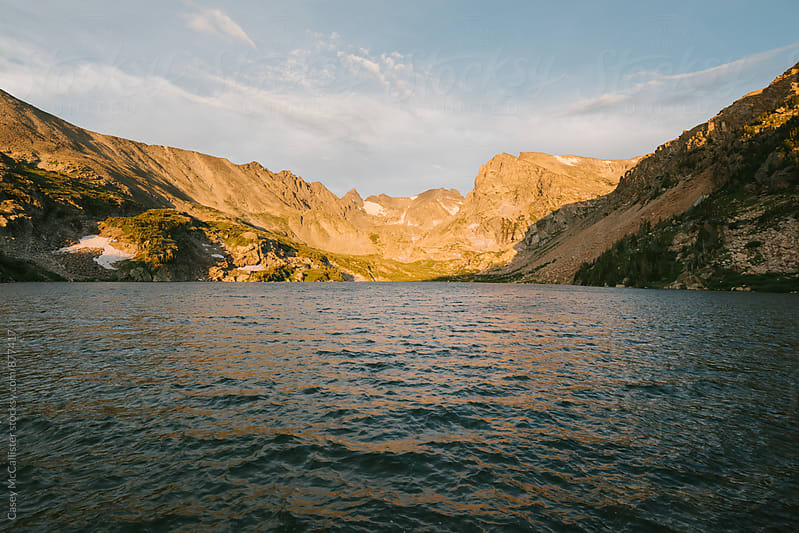 Colorado Alpint Lake by Casey McCallister for Stocksy United