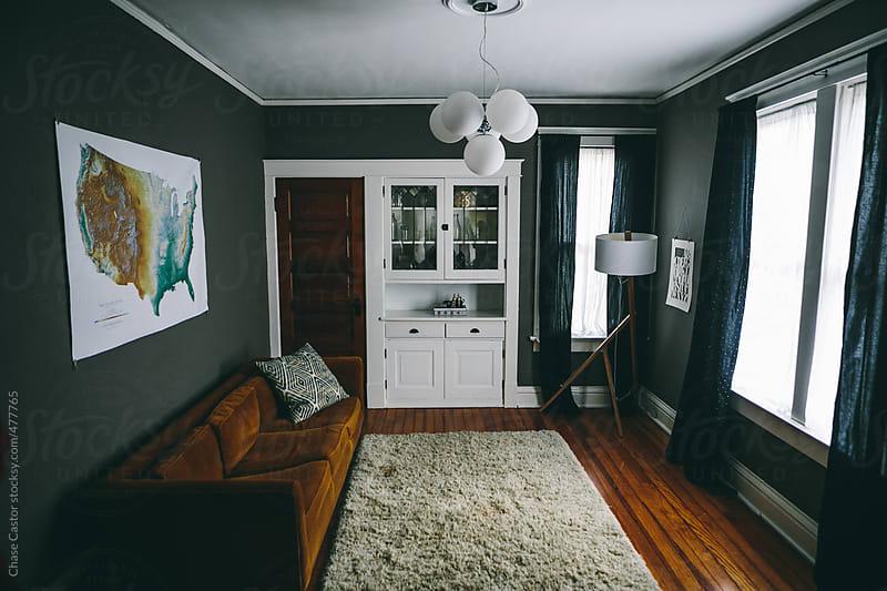 Quaint Living Room by Chase Castor for Stocksy United