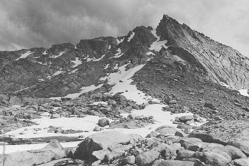 Mountains in Black and White by Jacki Potorke for Stocksy United