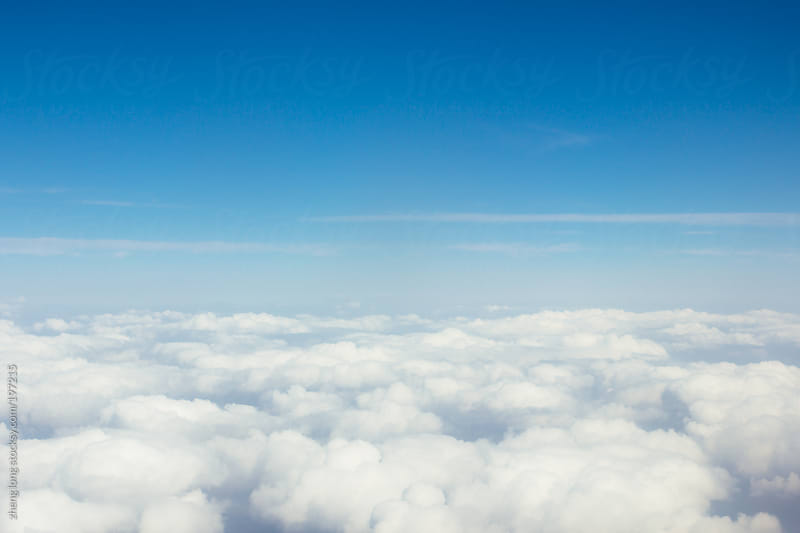 Above clouds by zheng long for Stocksy United