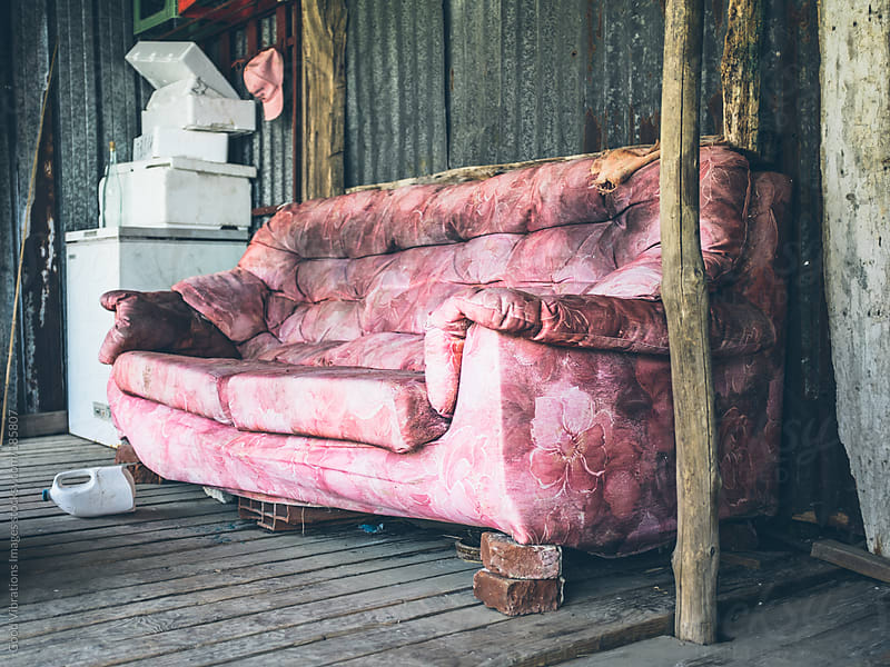 Pink Sofa by Good Vibrations Images for Stocksy United