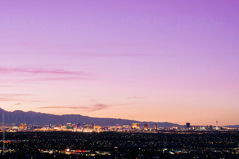 Las Vegas by Preappy for Stocksy United