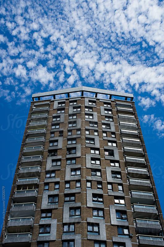 Hi-density living in London by Rowena Naylor for Stocksy United
