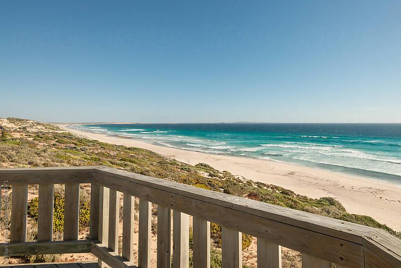 veranda at the beach by Gillian Vann for Stocksy United
