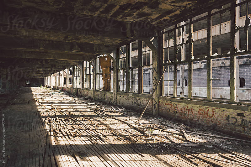 Abandoned Factory by Hillary Fox for Stocksy United