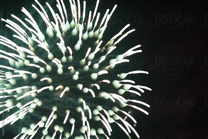 Firework explosion shape by Gabriel (Gabi) Bucataru for Stocksy United