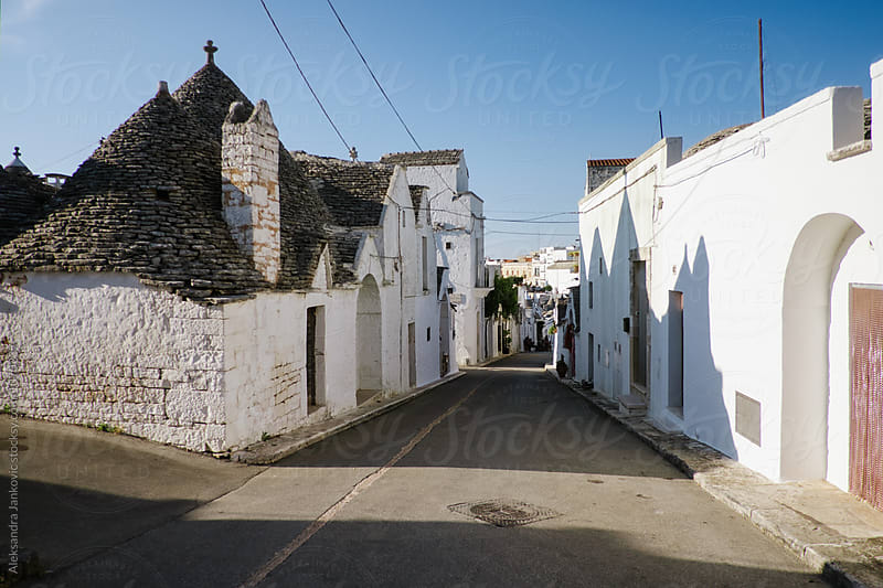 Alberobello City, Italy  by Aleksandra Jankovic for Stocksy United