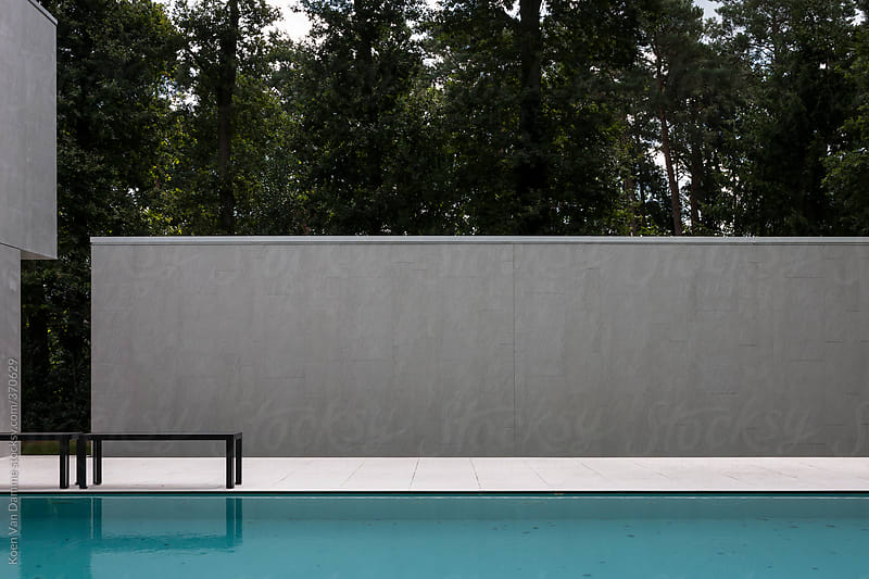 Swimming pool by Koen Van Damme for Stocksy United
