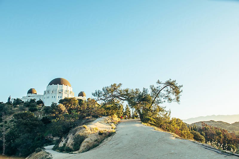 Hiking to the Griffith Observatory by Preappy for Stocksy United