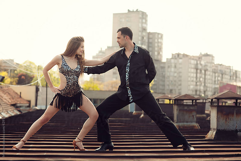 Young couple of professional dancers.  by Mosuno for Stocksy United