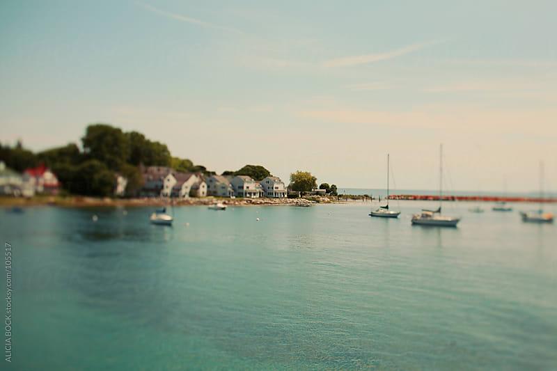 Mackinac Island Harbor #2 by ALICIA BOCK for Stocksy United