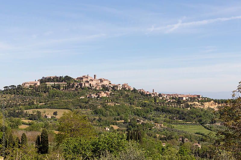 View of Montepulciano by Marilar Irastorza for Stocksy United