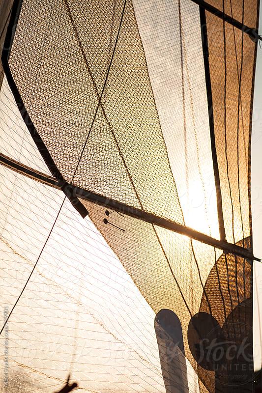 sun in the sails by MEM Studio for Stocksy United
