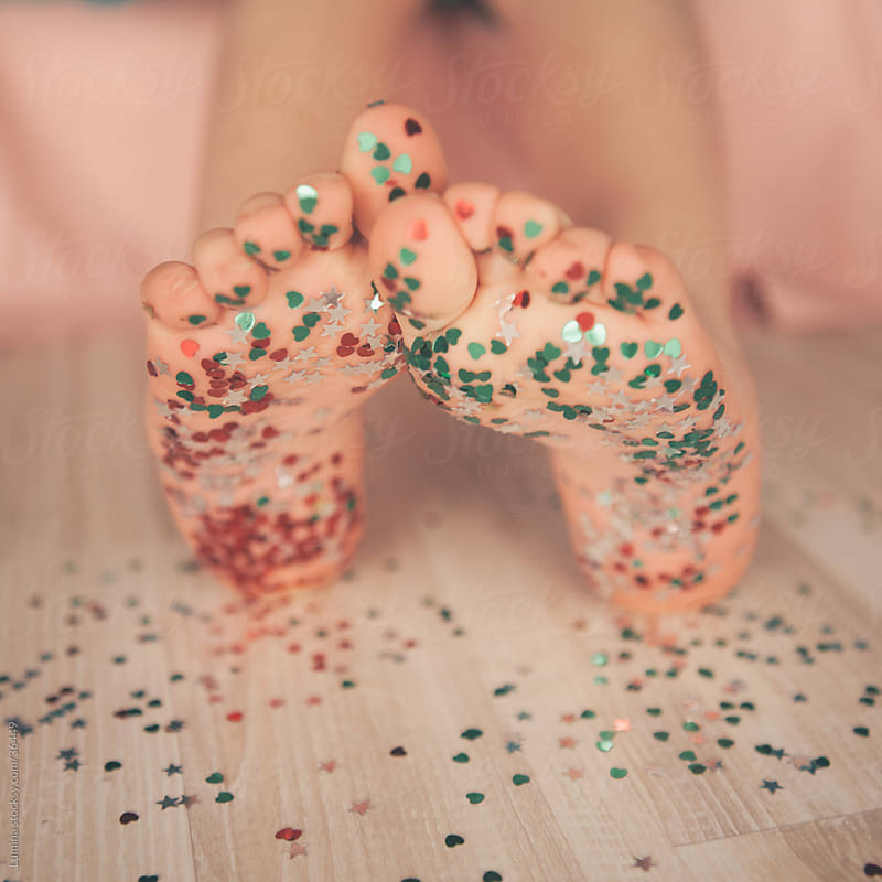 Confetti Feet by Lumina for Stocksy United