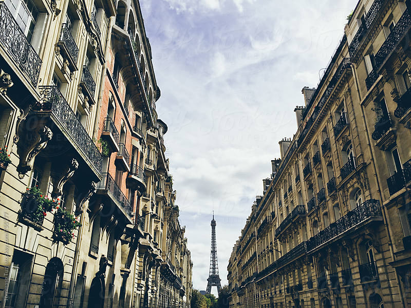 View of The Eiffel Tower and Paris by Tommaso Tuzj for Stocksy United