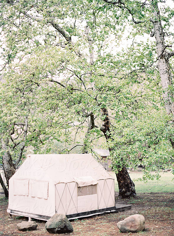 Tent Vacation  by Vicki Grafton Photography for Stocksy United