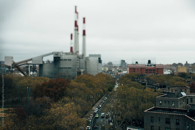 Autumn City Landscape by Isaiah & Taylor Photography for Stocksy United