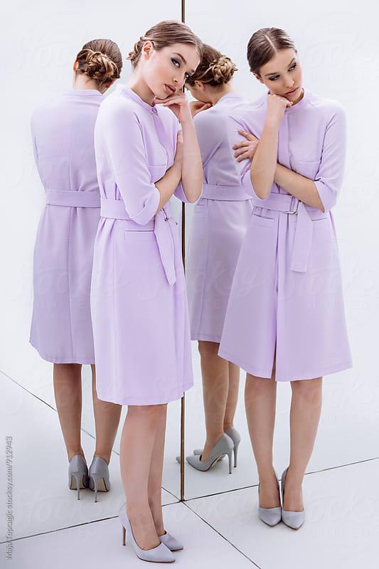 Spring fashion editorial by Maja Topcagic for Stocksy United