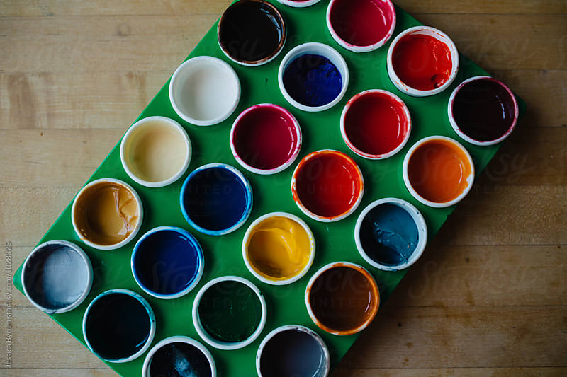 Finger Paint by Jessica Byrum for Stocksy United