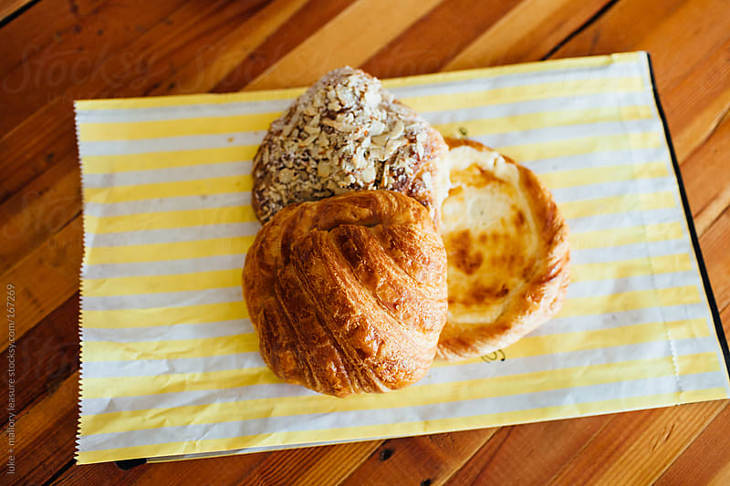 Breakfast pastries by luke + mallory leasure for Stocksy United