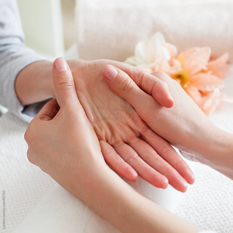 Hand Massage by Lumina for Stocksy United