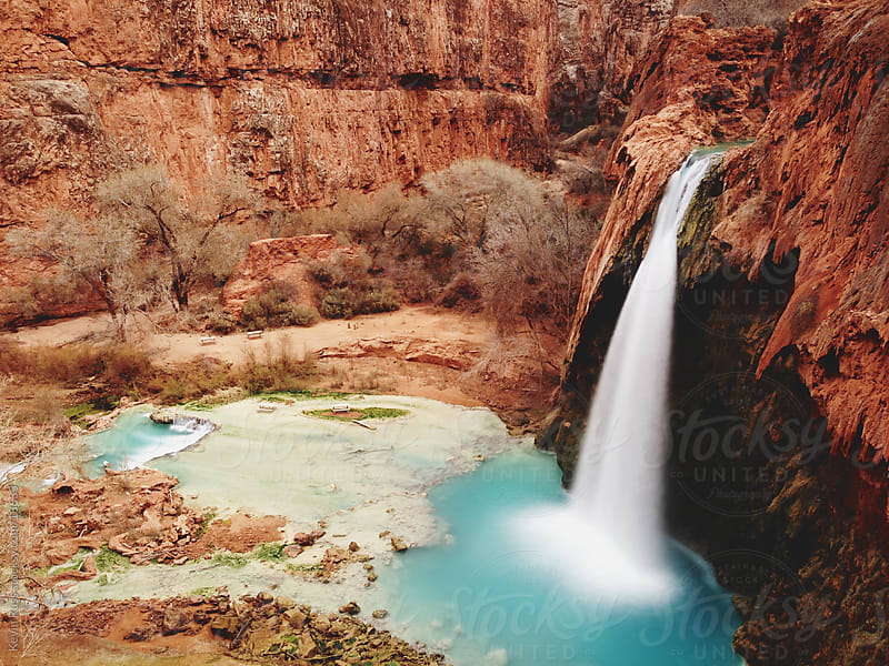 Havasu Falls by Kevin Russ for Stocksy United