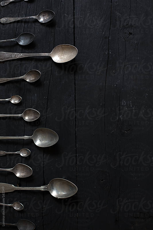 Silver Spoons by Lumina for Stocksy United
