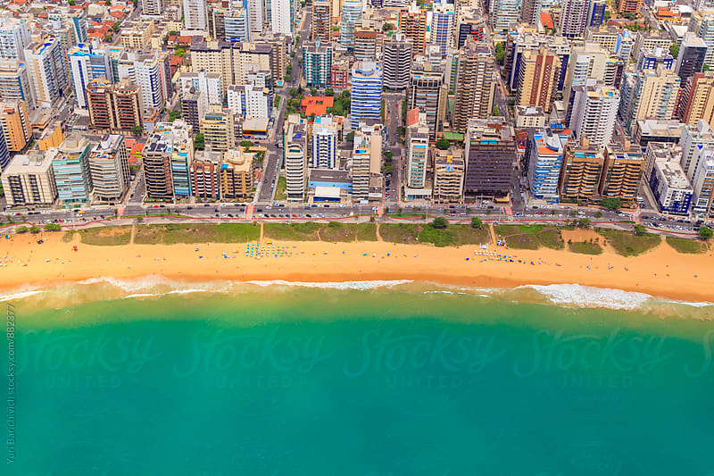 Aerial Beaches of Brazil by Yuri Barichivich for Stocksy United