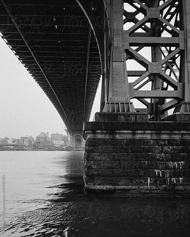 Under the Williamsburg Bridge by Cameron Whitman for Stocksy United