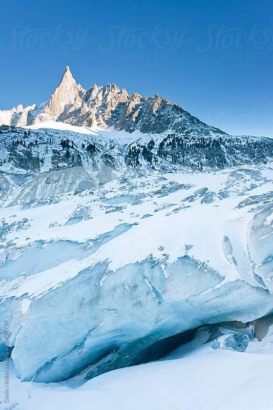 Chamonix-Mont-Blanc, French Alps, Haute Savoie, Chamonix, France by Gavin Hellier for Stocksy United