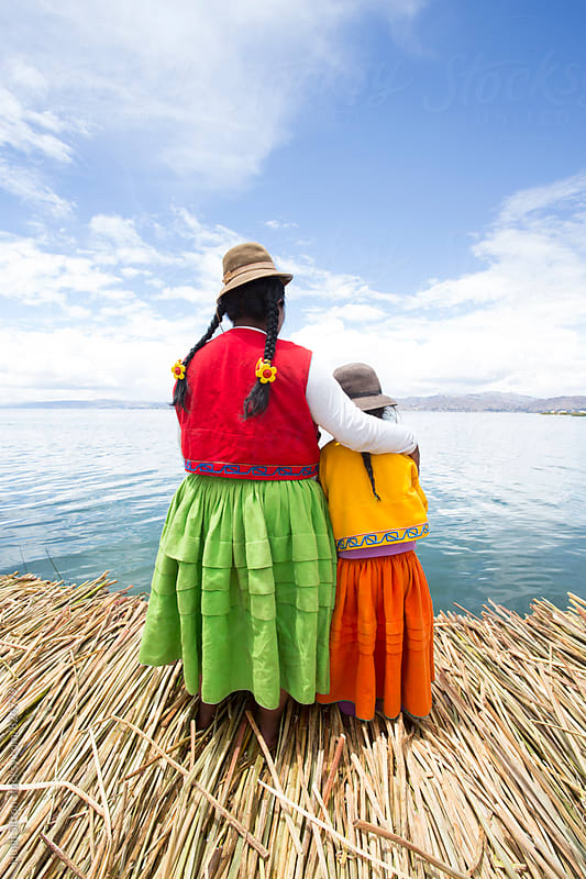 Floating Islands of Lake Titicaca. Peru by Hugh Sitton for Stocksy United