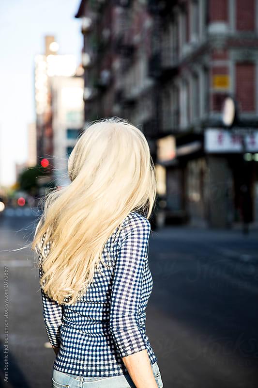 Grey hair by Ann-Sophie Fjelloe-Jensen for Stocksy United