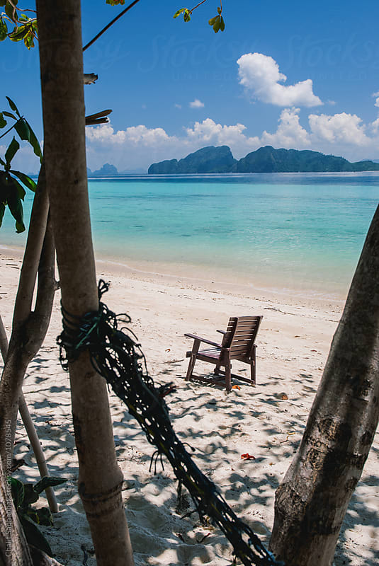 Koh Kradan Beach by Chalit Saphaphak for Stocksy United