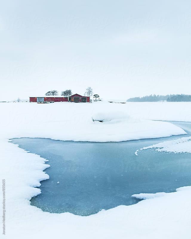 The frozen sea in the archipelago of Helsinki by Jonatan Hedberg for Stocksy United