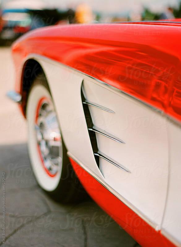 sports retro car by Kirill Bordon photography for Stocksy United