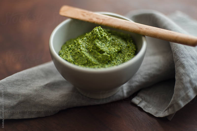 Fresh Pesto by Lindsay Upson for Stocksy United