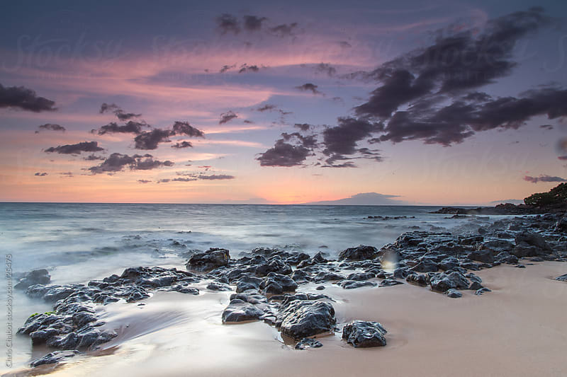 Sunset in Maui by Chris Chabot for Stocksy United
