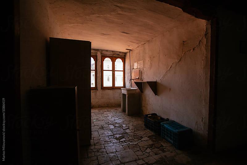 Old building interior by Marko Milovanović for Stocksy United
