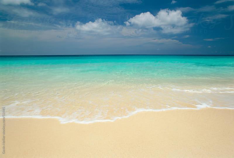 Sandy beach, Seychelles, Indian Ocean, Africa by Gavin Hellier for Stocksy United