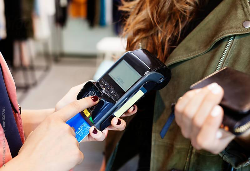 Credit card payment transaction