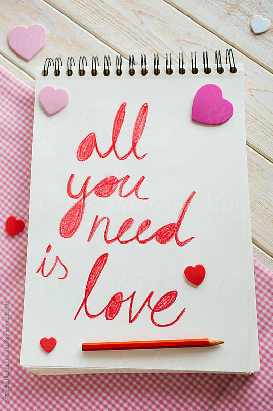 All you need is love by CACTUS Blai Baules for Stocksy United