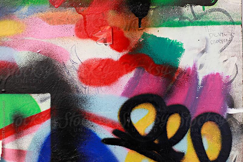 overspray colour by Natalie JEFFCOTT for Stocksy United