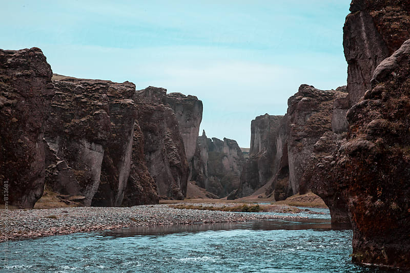 River In Iceland by Carey Haider for Stocksy United