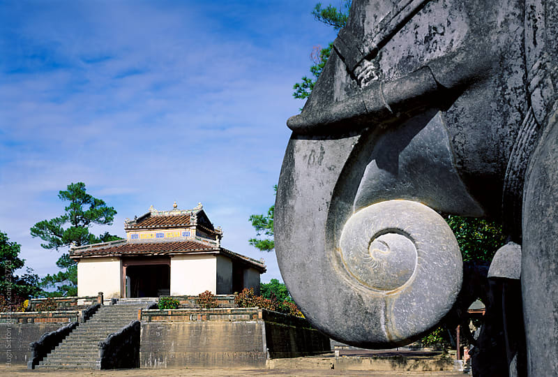 Minh Mang Royal Tomb in Hue, Vietnam by Hugh Sitton for Stocksy United