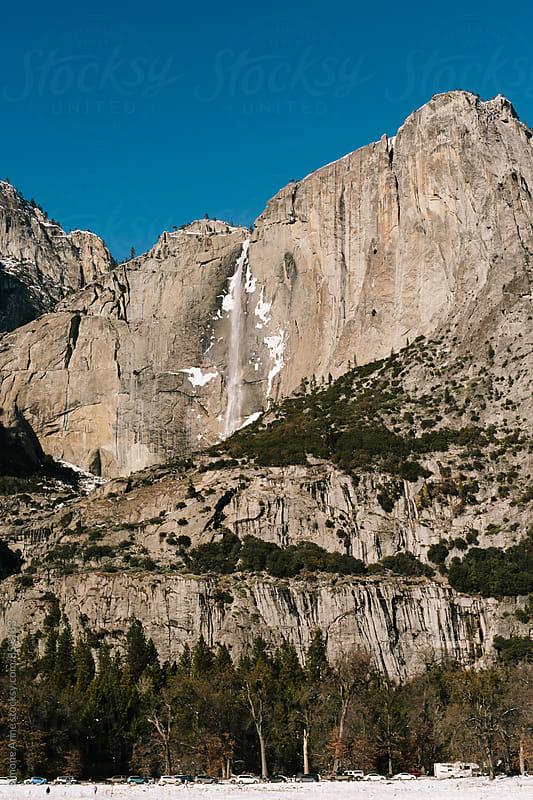Yosemite Falls in Winter by Simone Anne for Stocksy United